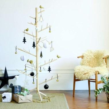 Unique christmas tree decoration ideas for your alternatives 40