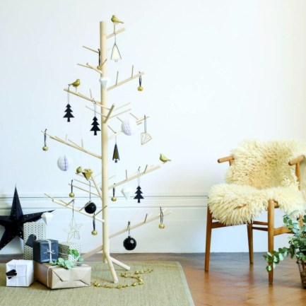Unique christmas tree decoration ideas for your alternatives 40
