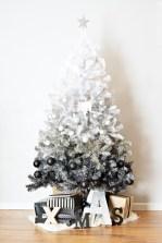 Unusual black christmas tree decoration ideas 04