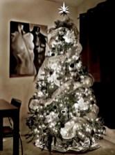 Unusual black christmas tree decoration ideas 15
