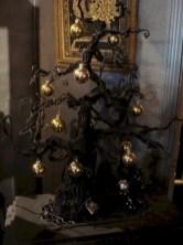 Unusual black christmas tree decoration ideas 16