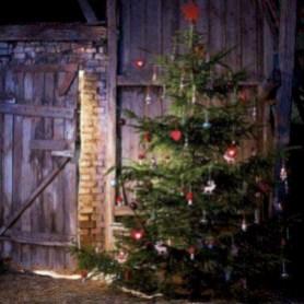 Unusual black christmas tree decoration ideas 19