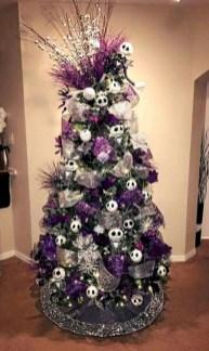 Unusual black christmas tree decoration ideas 26