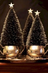 Unusual black christmas tree decoration ideas 38