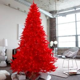 Unusual black christmas tree decoration ideas 39
