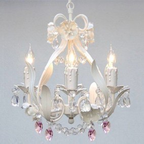 Adorable christmas chandelier decoration ideas 15