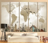 45 Awesome Large Wall Art Inspiration Ideas For Your ...