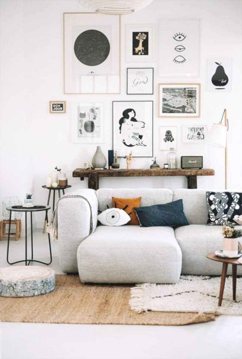 Awesome large wall art inspiration ideas for your living rooms 41