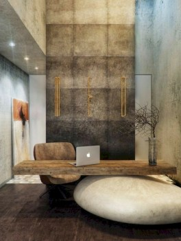 Awesome rustic home office designs ideas 05
