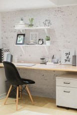 Awesome rustic home office designs ideas 19