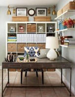 Awesome rustic home office designs ideas 43