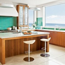 Bright and colorful kitchen design ideas 17