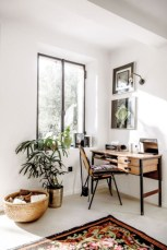Charming vintage home office decoration ideas 04