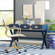 Charming vintage home office decoration ideas 07