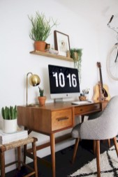 Charming vintage home office decoration ideas 15