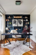 Charming vintage home office decoration ideas 34