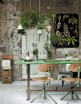 Charming vintage home office decoration ideas 38