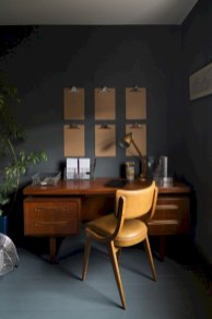 Charming vintage home office decoration ideas 42