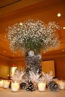 Charming winter centerpieces decoration ideas 14
