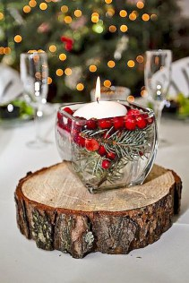 Charming winter centerpieces decoration ideas 32