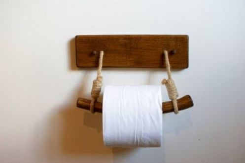 Cool and unique toilet tissue paper roll holders ideas 11
