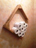 Cool and unique toilet tissue paper roll holders ideas 14