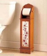 Cool and unique toilet tissue paper roll holders ideas 16