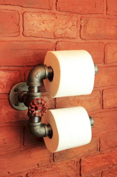 Cool and unique toilet tissue paper roll holders ideas 21