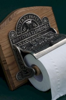 Cool and unique toilet tissue paper roll holders ideas 29