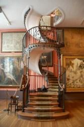 Cool space saving staircase designs ideas 06