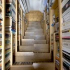 Cool space saving staircase designs ideas 10