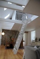 Cool space saving staircase designs ideas 19