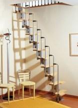 Cool space saving staircase designs ideas 20