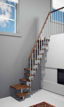Cool space saving staircase designs ideas 29