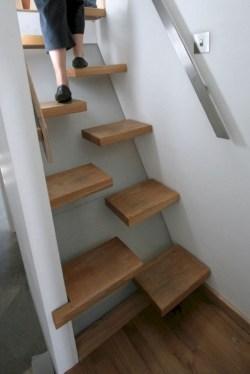 Cool space saving staircase designs ideas 31