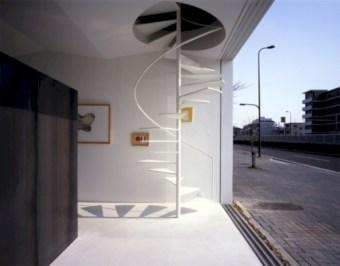 Cool space saving staircase designs ideas 32
