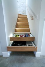 Cool space saving staircase designs ideas 41
