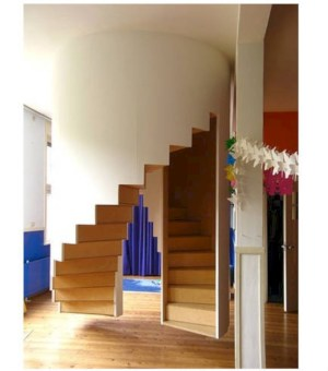 Cool space saving staircase designs ideas 46