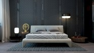 Cozy bedrooms design ideas with brilliant accent walls 10