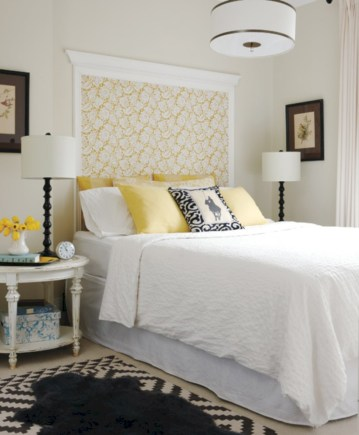 Cozy bedrooms design ideas with brilliant accent walls 32