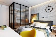 Cozy bedrooms design ideas with brilliant accent walls 38