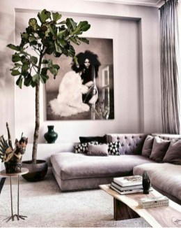 Creative living rooms design ideas for your inspiration 22