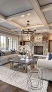 Creative living rooms design ideas for your inspiration 35
