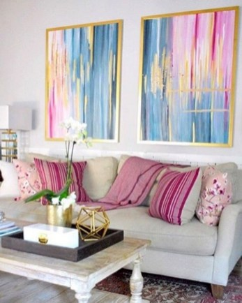 Creative living rooms design ideas for your inspiration 46