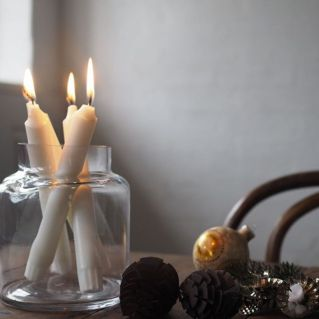 Fabulous christmas decoration ideas using candles 02