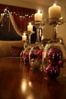 Fabulous christmas decoration ideas using candles 10
