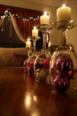 Fabulous christmas decoration ideas using candles 10