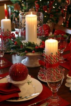 Fabulous christmas decoration ideas using candles 16