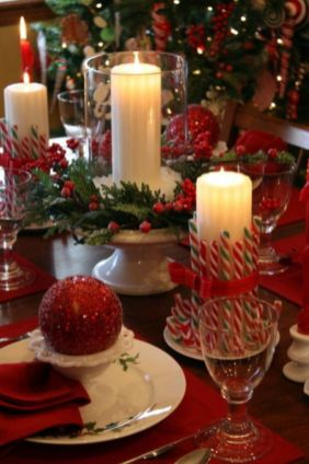 Fabulous christmas decoration ideas using candles 16