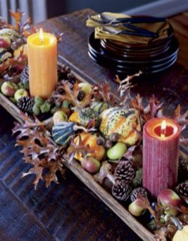 Fabulous christmas decoration ideas using candles 17